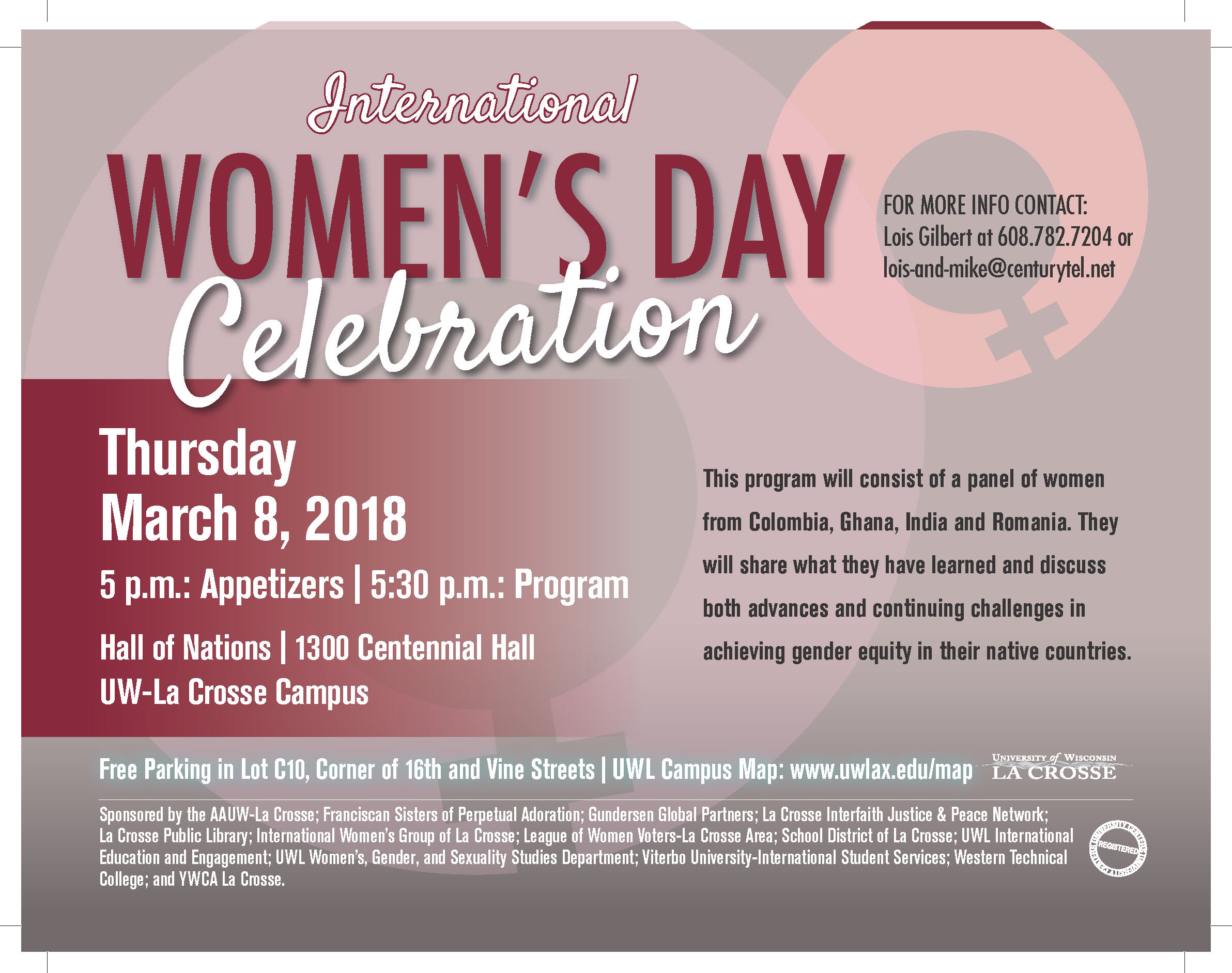 Aauw Special Events And Programs La Crosse Wi Branch